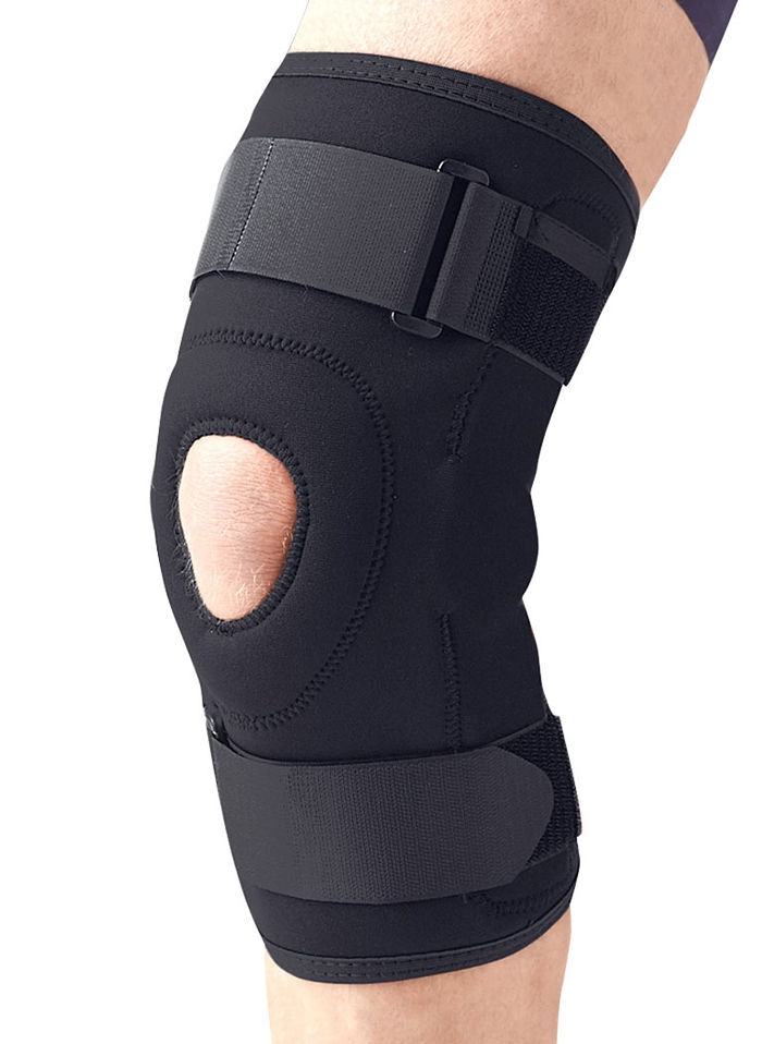 Hinged Knee Brace : Igo neverstop hinged knee brace feel good store online