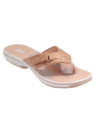 Main Clarks® Breeze Sea Flip-Flops ...