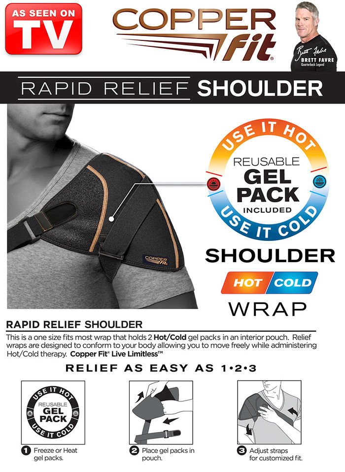 CopperFit™ Rapid Relief Shoulder