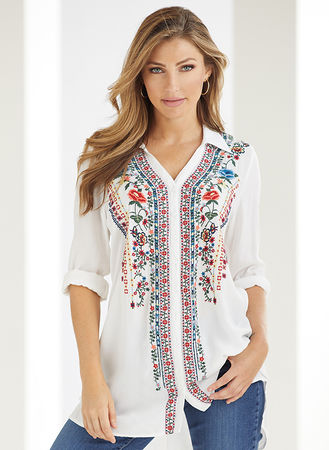 Main Blooming Beauty Tunic