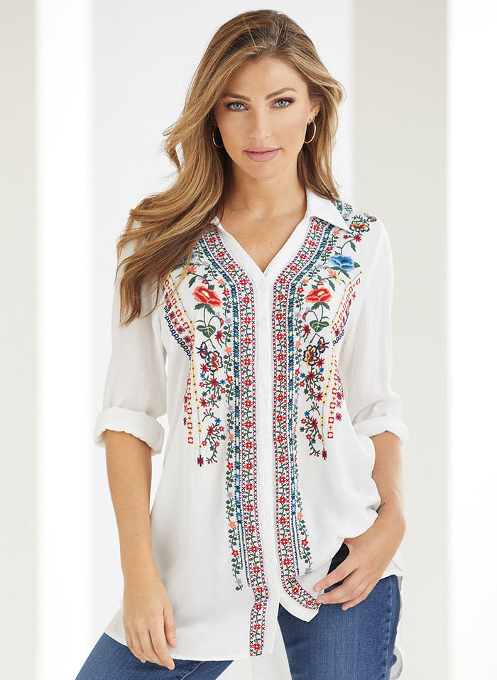 Blooming Beauty Tunic