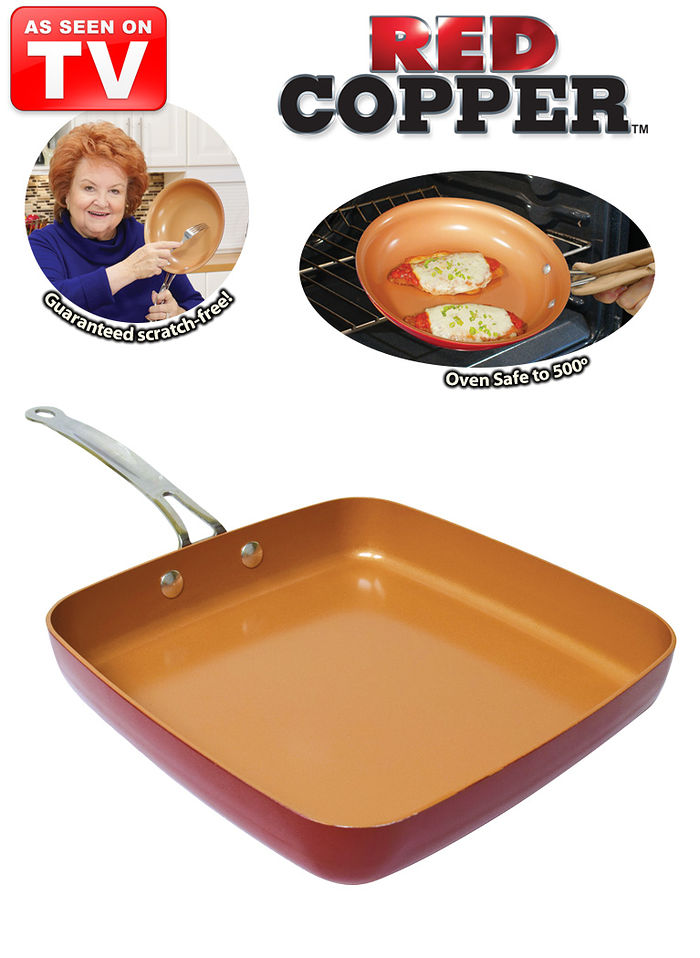 Red Copper Pans Feel Good Store