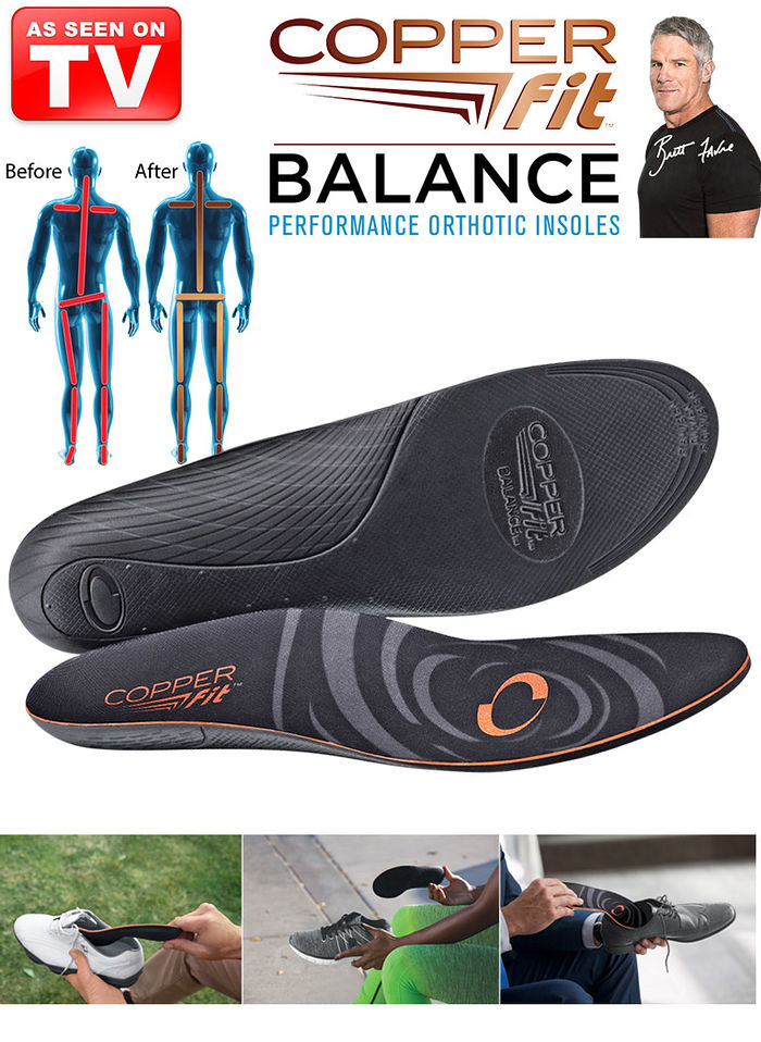 Copper Fit™ Balance Insoles