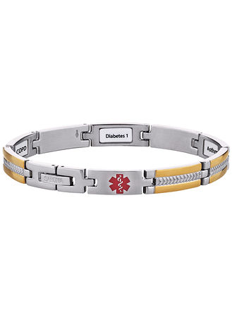 Main My Conditions™ Medical ID Bracelet
