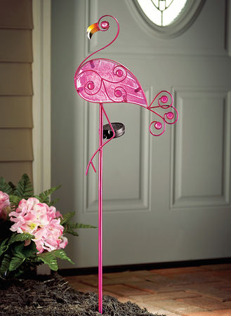 Main Flamingo Solar Garden Light